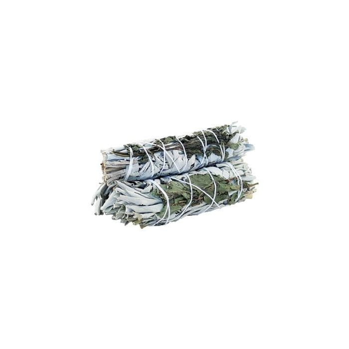 White Sage & Peppermint 10cm (1pcs) - Health Matters Shop
