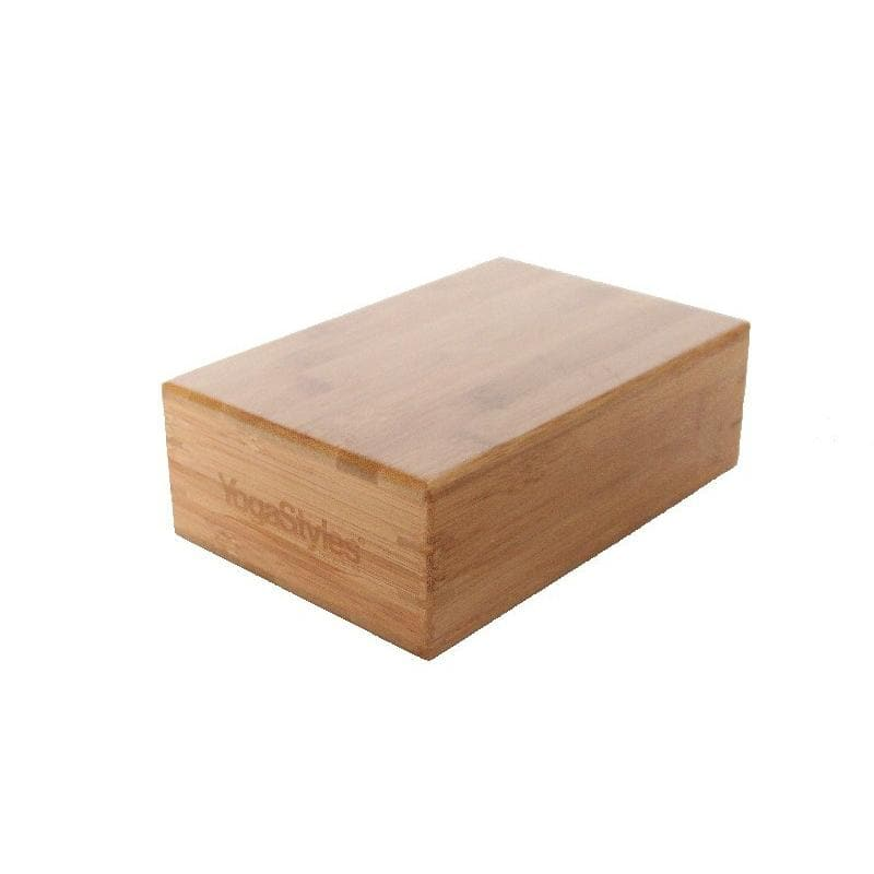 Bamboo Yoga Block - Health Matters Shop