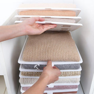 Storage Anti-Wrinkle Folding Clothes Board