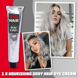 Nourishing Gray Hair Dye Cream