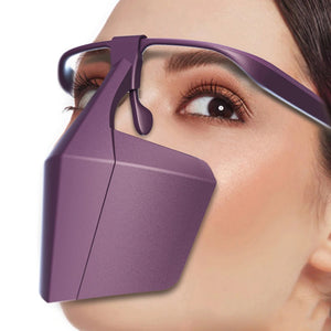 Anti-Fog Splash-Proof Dust-Proof Face Cover