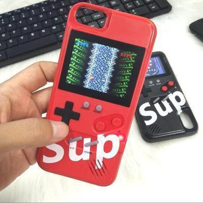 Color Screen Game Phone Case For iPhone 6/6S iPhone 7/8 iPhone 6sPlus/7Plus/8Plus iphone X/XS iphone XR iphone XS MAX 11 11 Pro 11 Pro Max