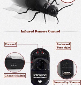 Remote Control Animal Prank Toy