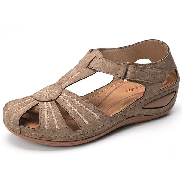 Casual Comfort Wedge Sandals