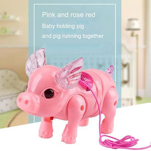 Electric Walking & Singing Musical Piggy Toy