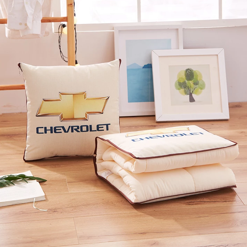 Car Logo 2-in-1 Multi-function Magic Pillow Blanket