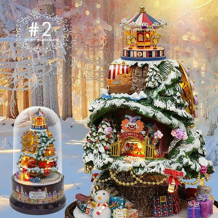 2019 best gift-DIY Handcraft Miniature Dolls House