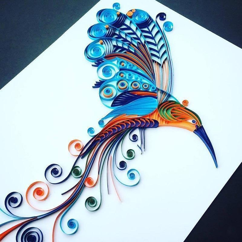 Paper Quilling Board with Pins