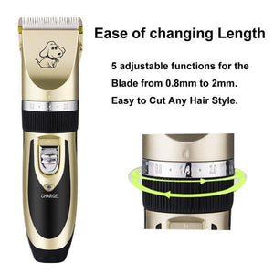 The Worlds Best Professional Rechargeable Pet Trimmer