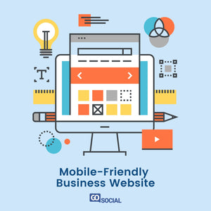 Mobile-Friendly Business Website
