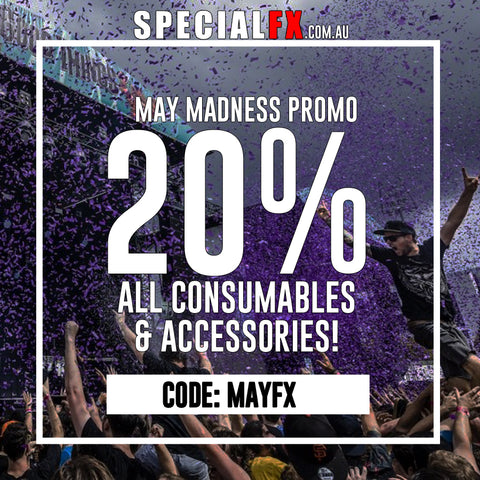 / May Madness Promotion