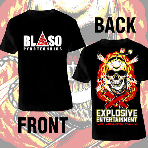 'Explosive Entertainment' T-shirt