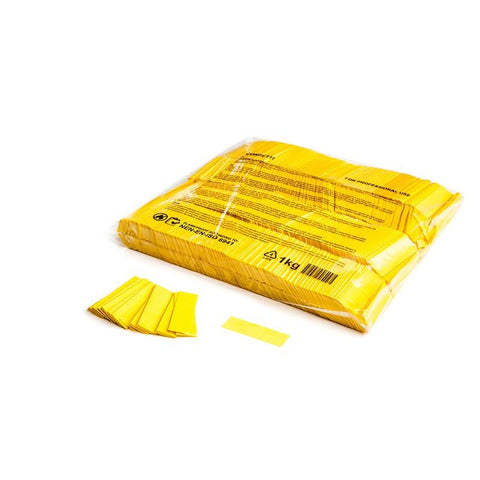 Slowfall Paper Confetti - Yellow - king-confetti