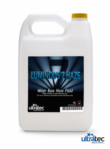 Ultratec Luminous 7 Haze Fluid 4L || SpecialFX Australia