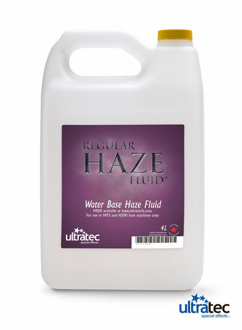 Ultratec Regular Haze Fluid 4L || SpecialFX Australia