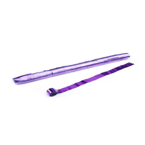 Metallic Streamers - Purple - king-confetti