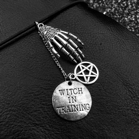 WITCH IN TRAINING GOTH CHARM