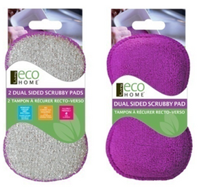 2 Dual Sided Washing Up Scrubby Pads - Direct Deliver