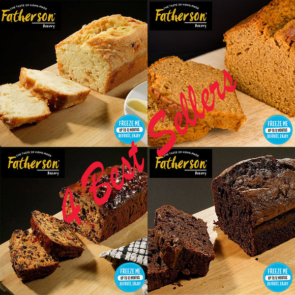 4 Best Sellers Mini Loaf Multi Pack (5 inch) - Direct Deliver