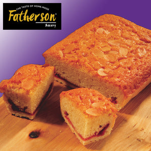 "Traditional Bakewell Slice Traybake 7"" x 5"" - Direct Deliver"