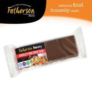 Chocolate Honeycomb Tiffin Snack Bar 65g - Direct Deliver
