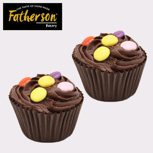 2 Chocolate Cup Cakes - Enjoy - Direct Deliver