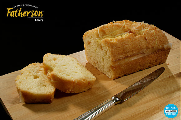 Large Lemon Drizzle Loaf (8 inch) - Direct Deliver