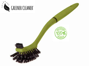 Utility Brush - Green 100% Recycled - Direct Deliver