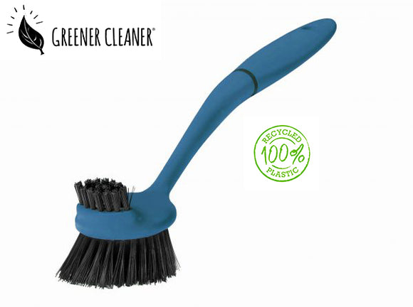 Dish Brush - Blue 100% recycled material - Direct Deliver