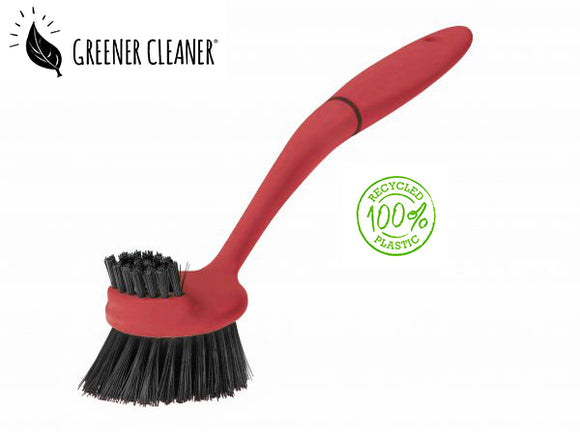 Dish Brush - Red 100% recycled material - Direct Deliver