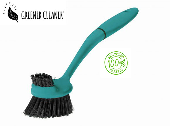 Dish Brush - Turquoise 100% recycled material - Direct Deliver