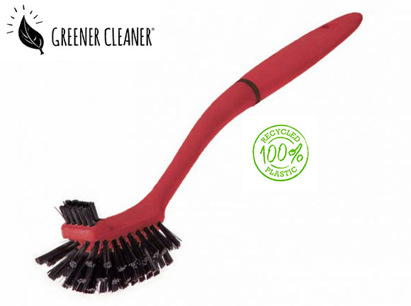 Utility Brush - Red 100% Recycled - Direct Deliver