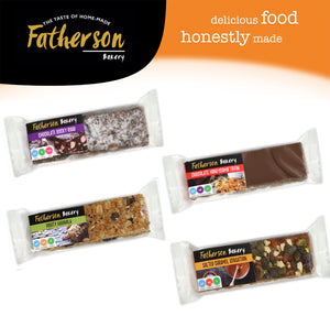 4 Gluten Free Mixed Snack Bars 65g x 4 - Direct Deliver