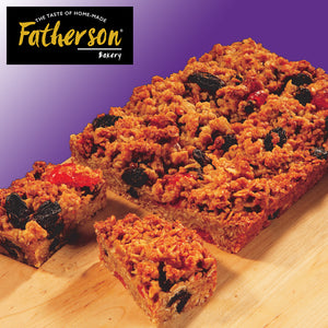 "Fruit Flapjack Traybake 7"" x 5"" - Direct Deliver"