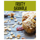 4 Fruity Granola Snack Bars 65g x 4 - Direct Deliver