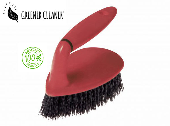 Scrubbing brush - red 100% recycled - Direct Deliver