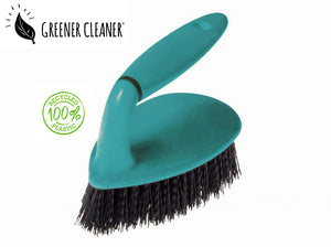 Scrubbing brush - turquoise 100% recycled - Direct Deliver