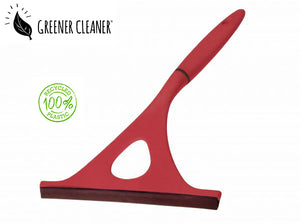 Window wiper - red 100% recycled - Direct Deliver
