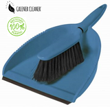 Dustpan & Brush - Blue-100% recycled material - Direct Deliver