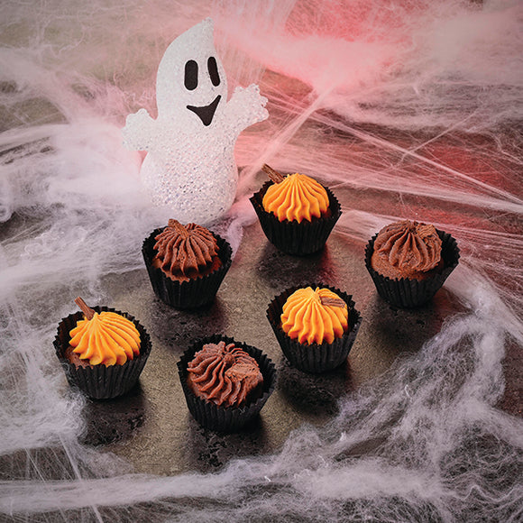 6 Halloween Fairy Cakes - Direct Deliver