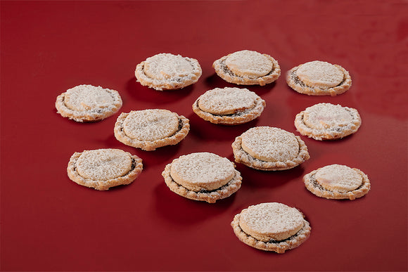 12 Traditional Mince Pies - Direct Deliver