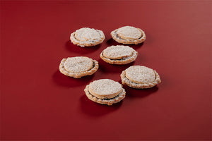 6 Traditional Mince Pies - Direct Deliver