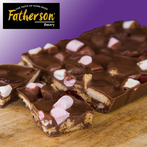 "Rocky Road Gastro Traybake 12"" x 8"" - Direct Deliver"