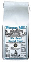 Six Seed Bread Flour 1.5Kg - Award Winning - Direct Deliver