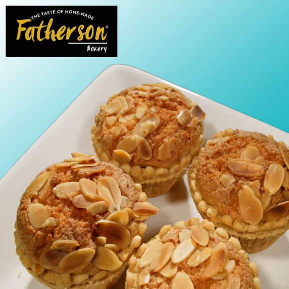 Traditional Bakewell x 4 - Handmade - Direct Deliver