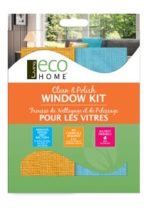Window Cleaning Kit - 2 cloths - Direct Deliver