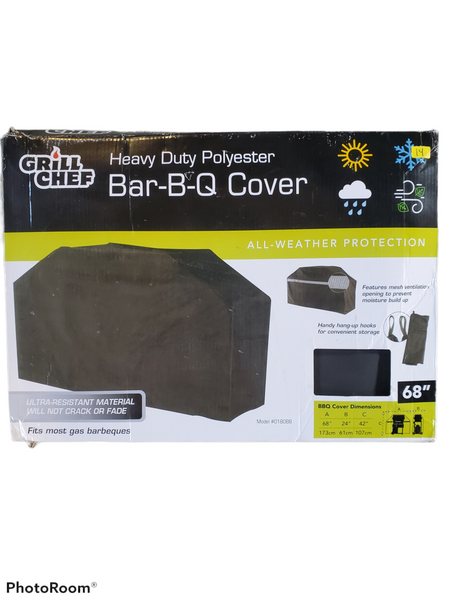 Grill chef bar-b-q cover