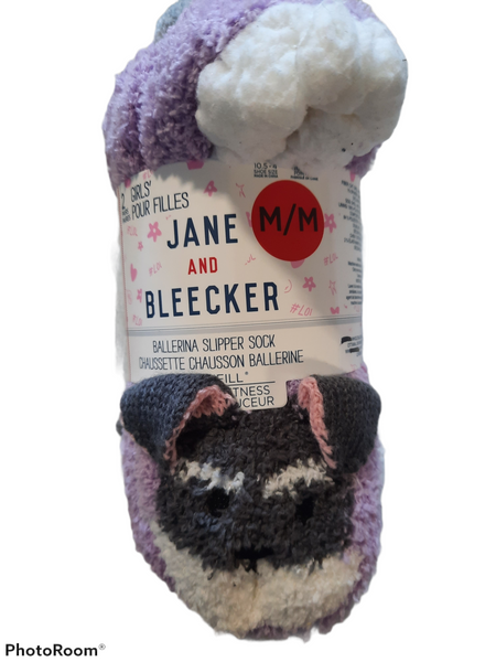 Jane and Bleecker ballerina slipper sock