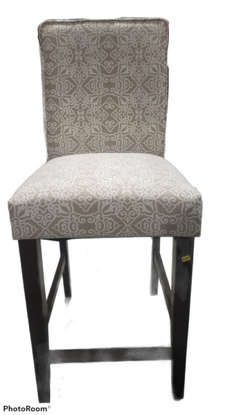 Printed Fabric Counter Stool