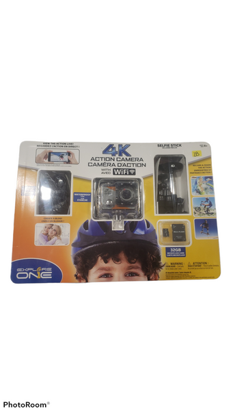 Explore one 4k Action Camera
